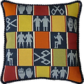 The completed cushion