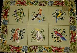 Multi panel rug