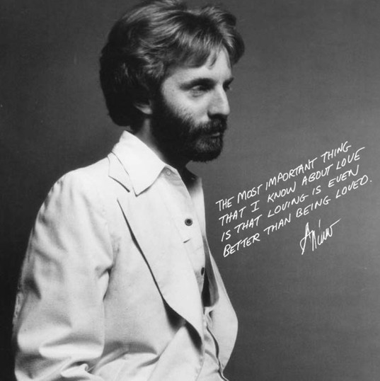 Andrew Gold and love quote