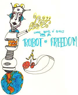 Robot Of Freedom again
