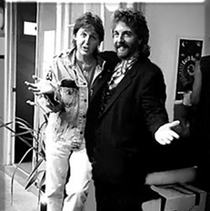 Andrew Gold and Paul McCartney