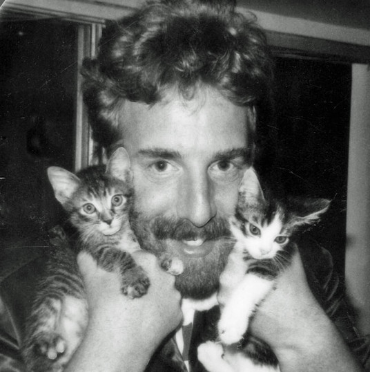 Andrew was a cat person!