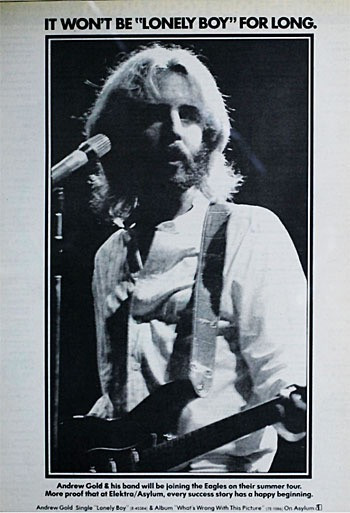 Billboard Ad - Andrew Gold