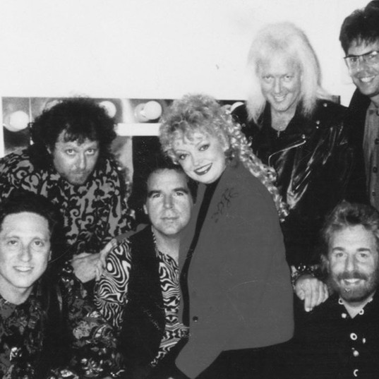 Andrew Gold, Ronstadt band 1990 Tour