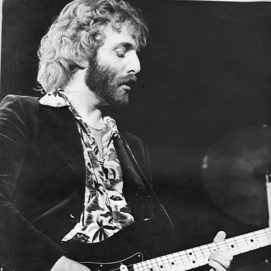 Andrew Gold and black Fender