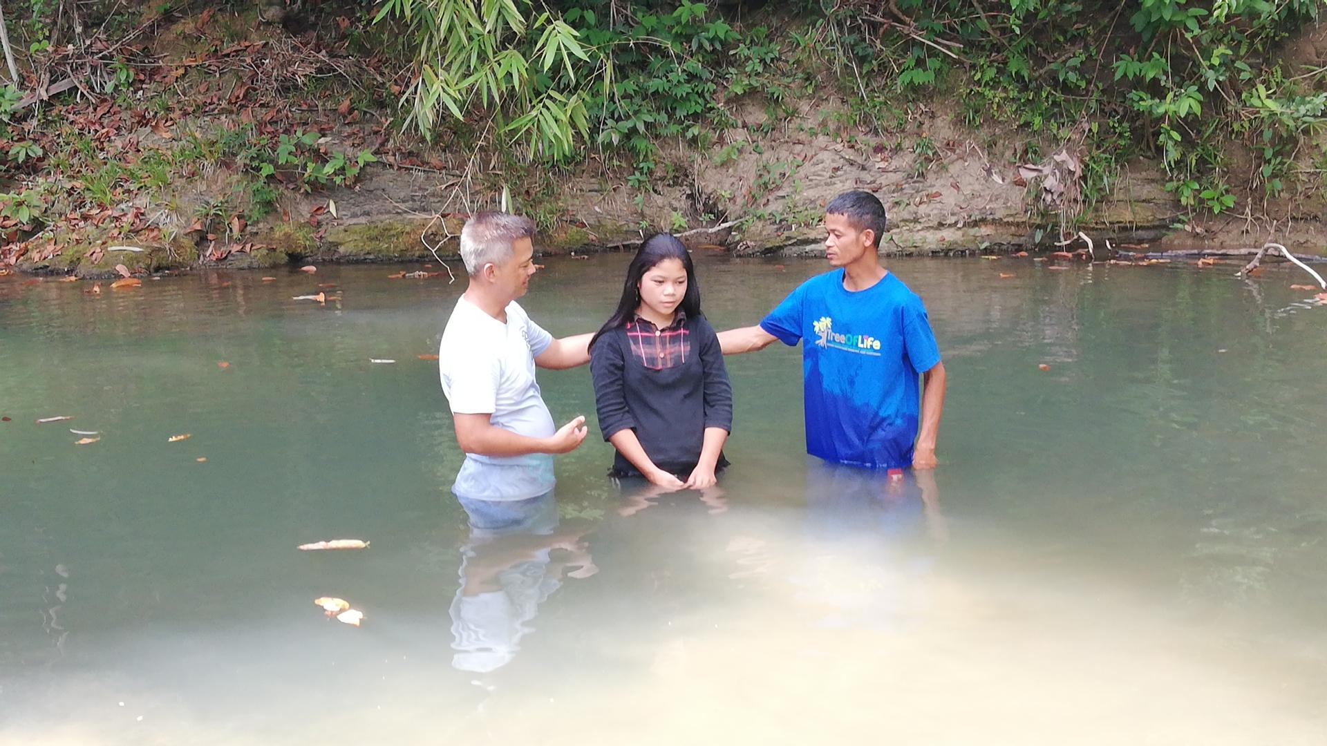Baptism in Palawan