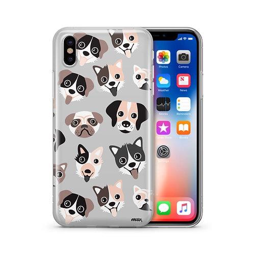 Puppy Love - Clear TPU Case Cover