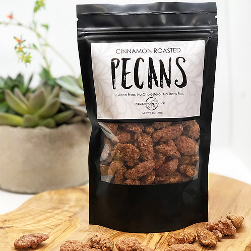 KETTLE ROASTED PECANS (1/2 LB.)