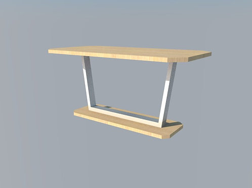 Custom Dining Table (Solid Wood)