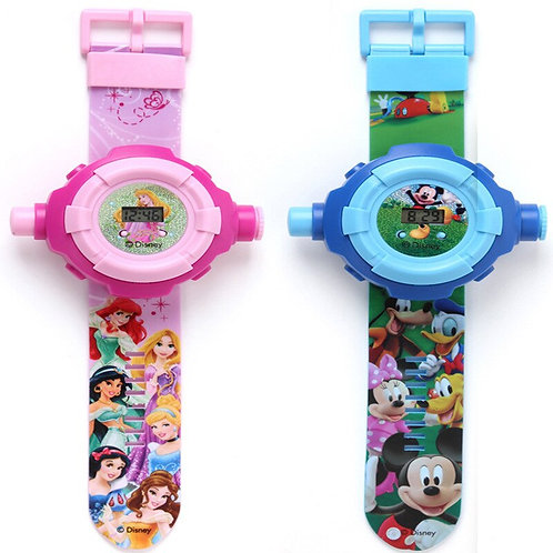 Disney Genuine Authorized Watch/Projector Toy, Gift