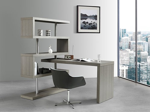 Modern Office Desk - Matte Grey (KD002)