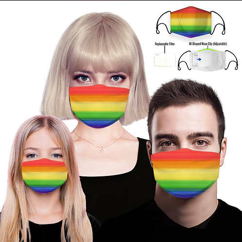 Face Covering - Rainbow