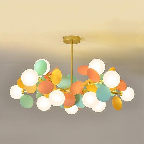Colour Ball Chandelier Indoor Light for Children's/Living Room -  Home Decor