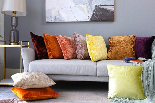 "Plush 20"" x 20"" (50cmx50cm) Pillow Covers"