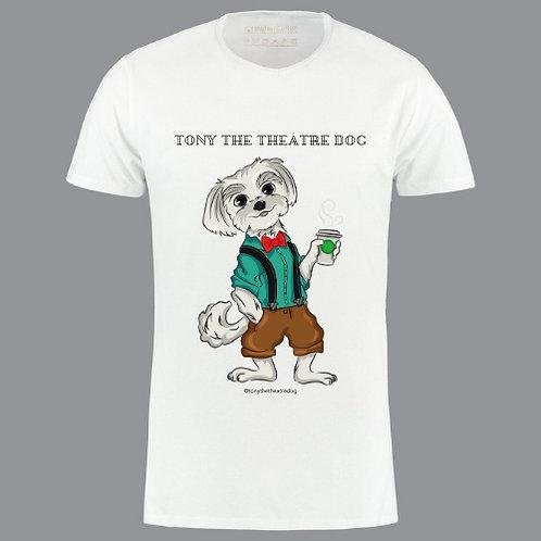 Tony the Theatre Dog Logo T-shirts