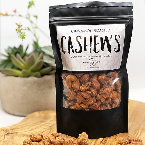 KETTLE ROASTED CASHEWS (1/2 LB.)