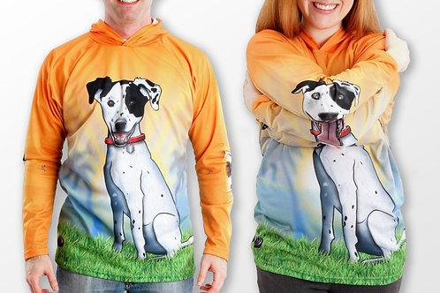 HOUND DOG Hoodie Sport Shirt by MOUTHMAN®