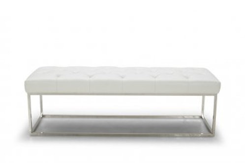 Chelsea Lux Bench - White