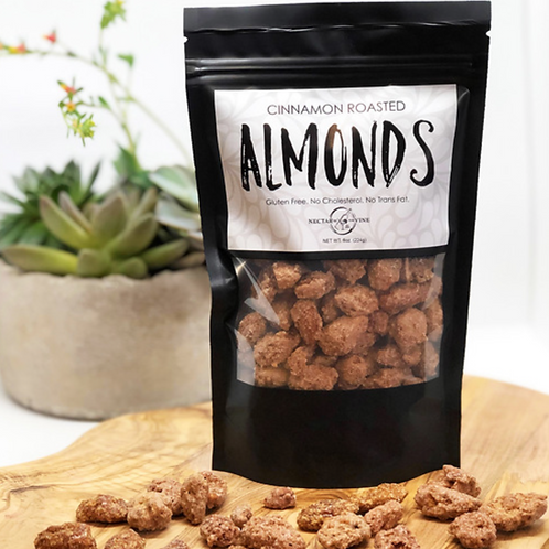 KETTLE ROASTED ALMONDS (1/2 LB.)