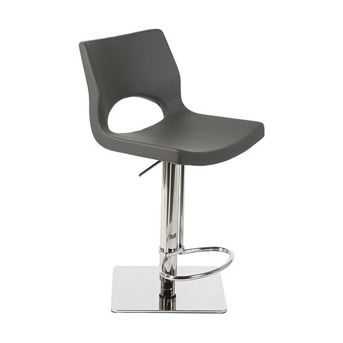 Contempo Swivel Barstool - Grey (Set of 2)