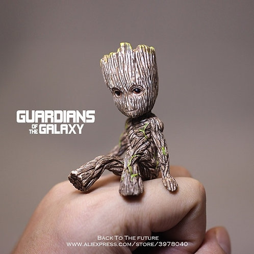 Disney Guardians of the Galaxy 2 Sitting Grout PVC Mini Action Figure