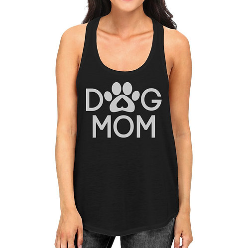 Dog Mom Women's Graphic Tank Top for Dog Lovers