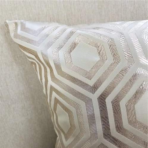 Geometric Woven Jacquard Pillow Case