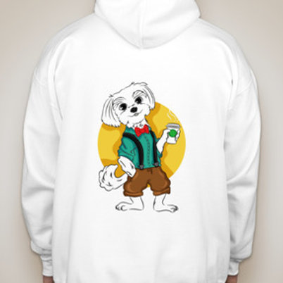 Tony the Theatre Dog Hoodie Sweatshirt