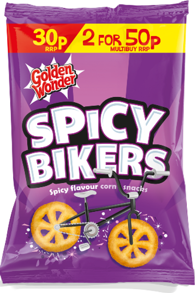 Golden Wonder Spicy Bikers