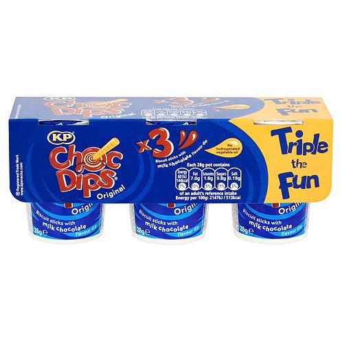 KP Choc Dips 3 Pack