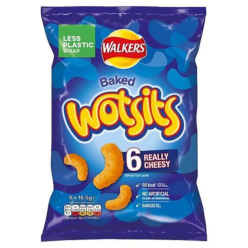 Wotsits Cheese 6 Pack