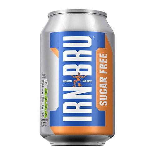 Irn-Bru Sugar Free Can