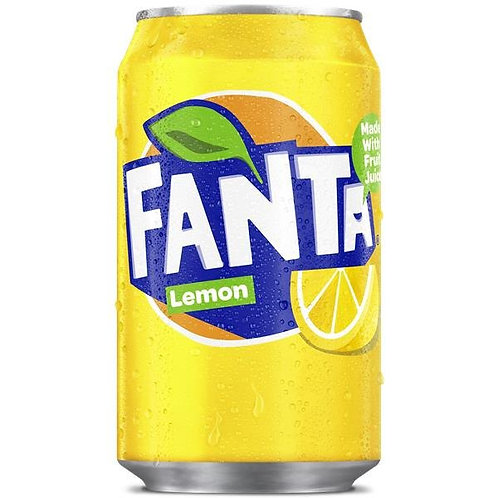 Fanta Lemon Can