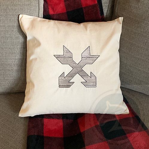 Crossed Arrow Pillow