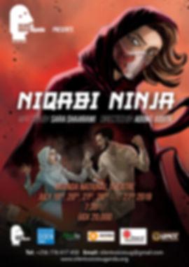 Niqabi Ninja Production Poster sample.jp