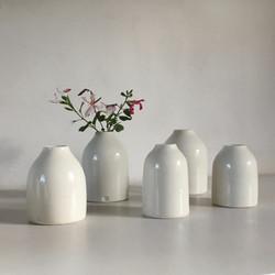 Mini bottle vases