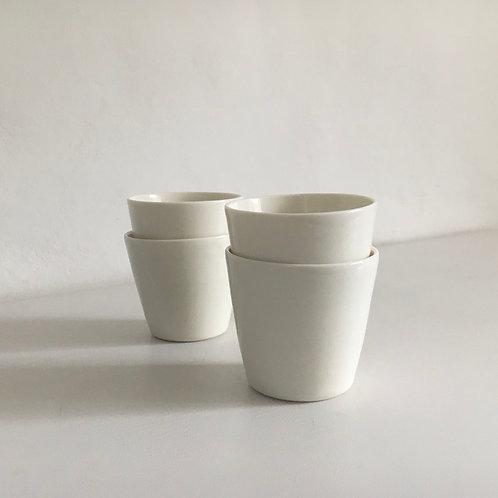 Set of 4 Straight Beakers