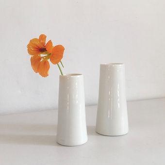 Pair of bud vases- 1