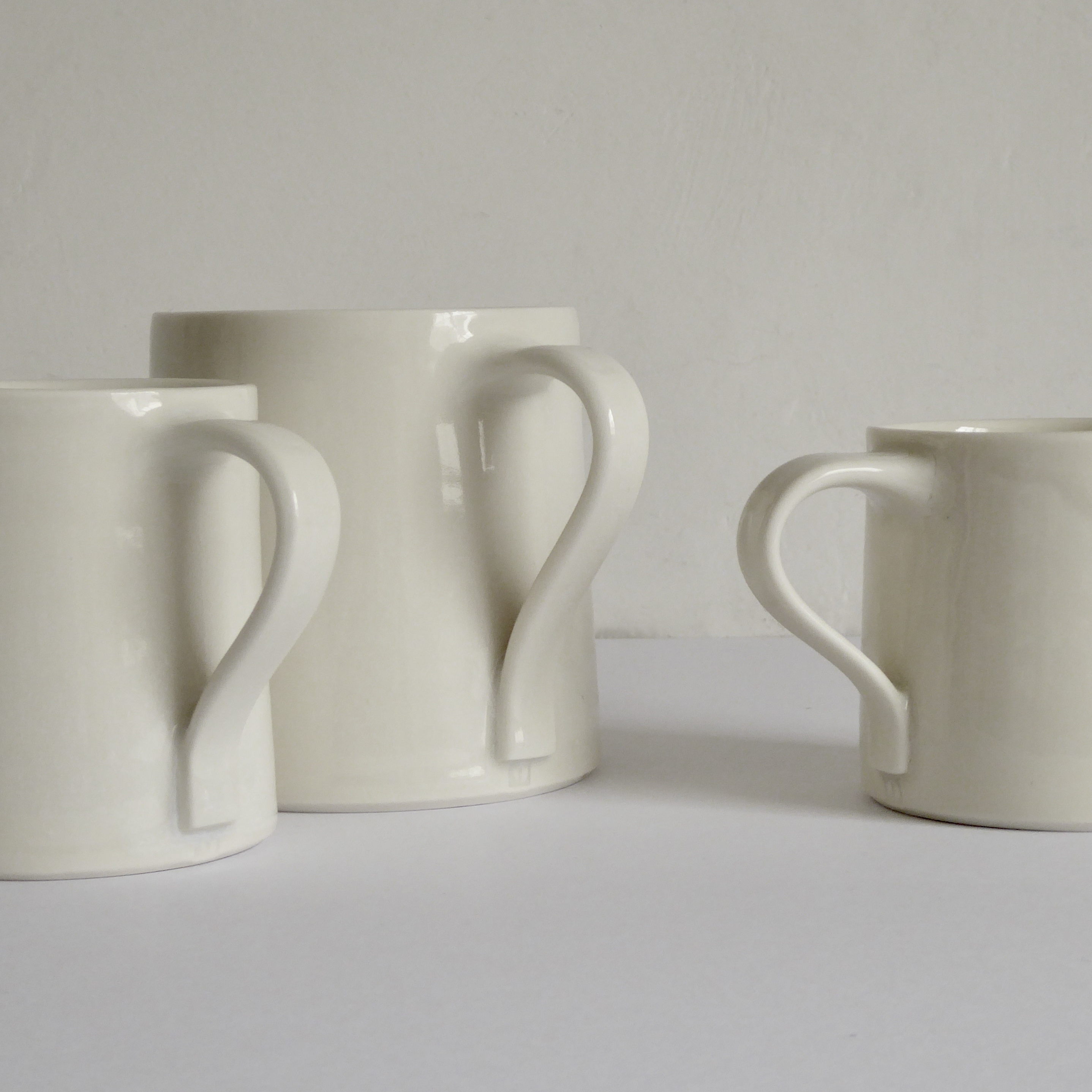 Afternoon, Tall and Square mugs
