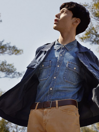 Screen Male Grooming for Esquire x AG Jeans