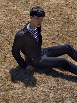 Male Grooming for Esquire x AG Jeans