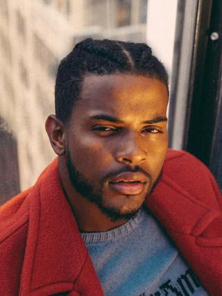 Male Grooming & Braids for Trevor Jackson