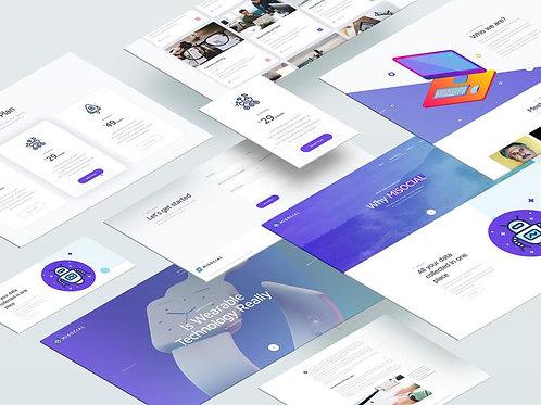 Site + Aplicativo Mobile
