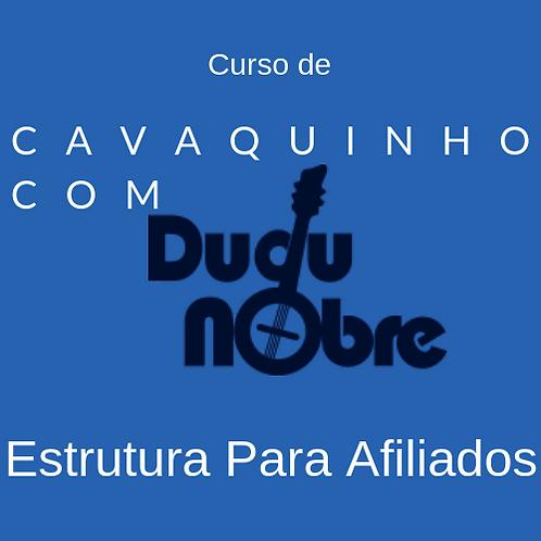 Curso de cavaquinho com Dudu Nobre