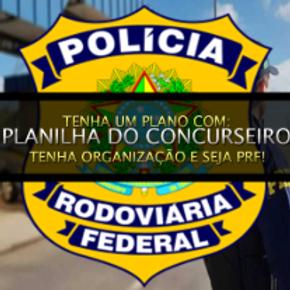 Focado na Polícia Rodoviária Federal