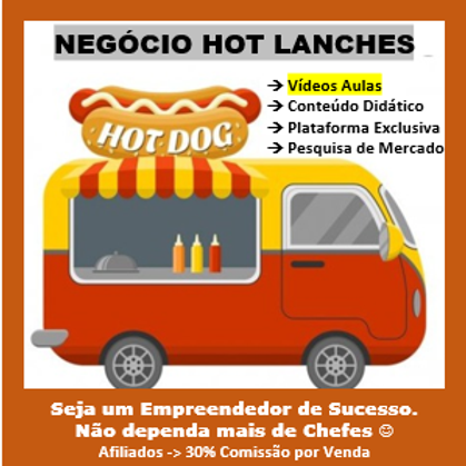 Negócio Hot Lanches