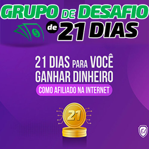 Grupo de Desafio 21 Dias