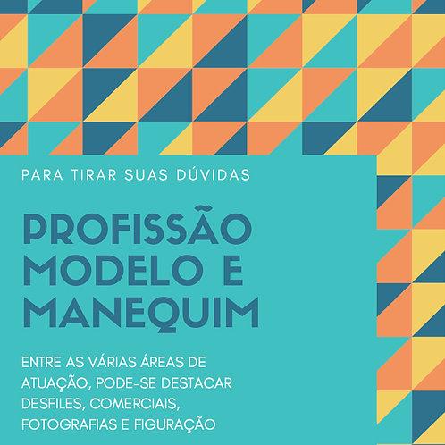 e-Book PROFISSÃO MODELO E MANEQUIM
