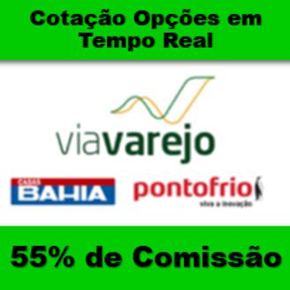 MERCADO DE OPÇÕES - VIA VAREJO - TEMPO REAL