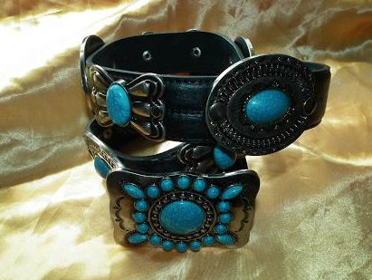 Elvis Style Navajo Indian Belt